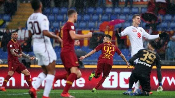 Roma-Torino 3-2: Zaniolo apre, El Shaarawy chiude. Giallorossi al quarto posto