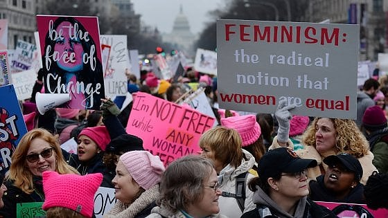 Donne in marcia in tutta l'America. Cortei anche in Europa