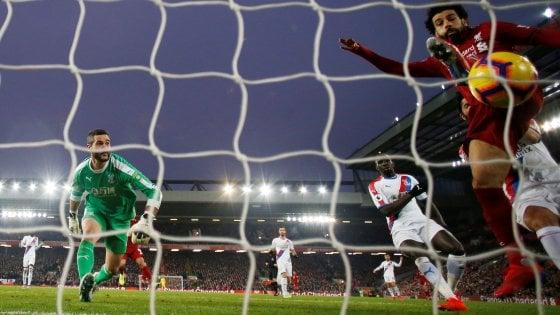 """Il Chelsea perde e Sarri si infuria: """"Sono incazz..."""". Il Liverpool batte il Crystal Palace"""