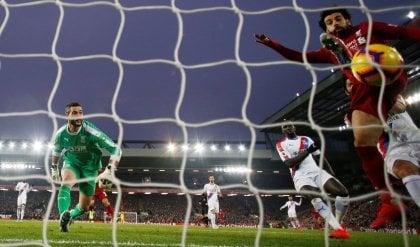Pazzo Liverpool: 4-3 al Crystal Palace  Sarri furioso dopo il ko con l'Arsenal