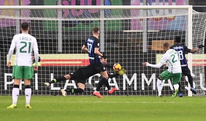 L'Inter non graffia: con il Sassuolo finisce 0-0