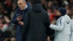 """Il Chelsea perde e Sarri si infuria: """"Parlo in italiano, sono incaz..."""""""
