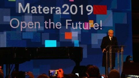 """Matera è Capitale europea della cultura. Mattarella: """"E' il Sud che innova"""""""
