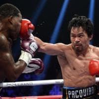 Boxe, Pacquiao: la leggenda continua. Broner dominato ai punti