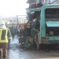 Siria, forte esplosione sentita a Damasco: tre morti