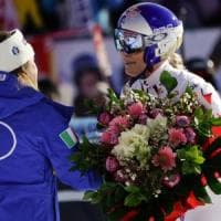 Cortina, Lindsey Vonn addio in lacrime: