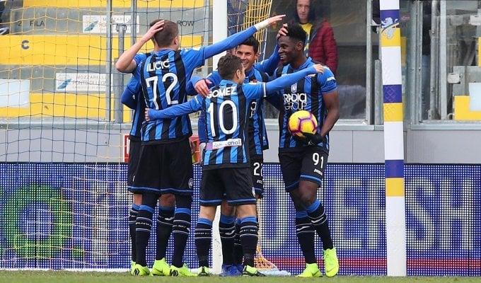 In diretta Fiorentina - Sampdoria   In diretta Spal - Bologna   Poker Zapata: l'Atalanta vince 5-0 a Frosinone