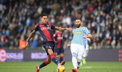 Kurtic replica a Palacio, il derby salvezza Spal-Bologna finisce 1-1