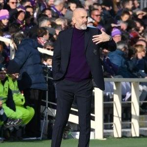 """Fiorentina, Pioli: """"Perdere sarebbe stata una beffa"""""""