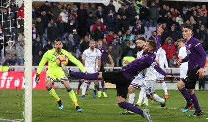 Muriel e Quagliarella show Fiorentina-Sampdoria 3-3