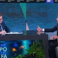 """Di Battista a 'Che tempo che fa': """"Non mi candido alle europee. La Lega restituisca i 49..."""