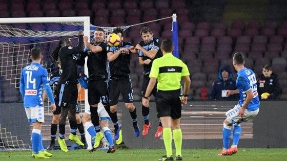 Napoli-Lazio 2-1, Callejon si sblocca, poi magia di Milik. Azzurri a -6 dalla Juve