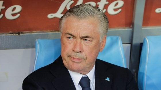 Napoli, Ancelotti: ''Milik grande attaccante, non si sono sentite assenze''. De Laurentiis attacca corte federale