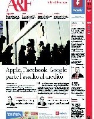 Apple, Facebook e Google alla conquista del credito