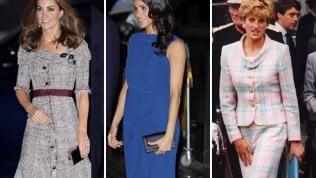 C'è un motivo per cui Kate e Meghan (e prima Lady Diana) tengono la borsa a sinistra