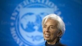 Chiristine Lagarde, direttrice del Fmi