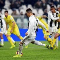 Juventus-Chievo 3-0, Ronaldo sbaglia un rigore: Sorrentino glielo para