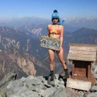 Taiwan, morta per congelamento la 'scalatrice in bikini' star dei social