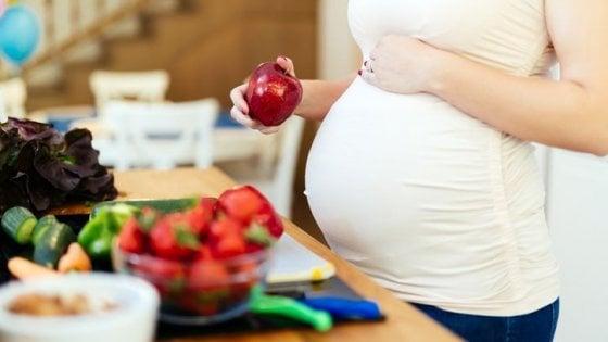 Le richieste nutrizionali per un buon sviluppo del feto