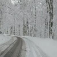 Nevicate in tutto il centro nord e domani peggiora