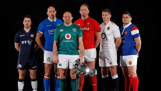 Rugby Sei Nazioni Calendario.Sei Nazioni Presentato A Londra O Shea Il Livello E