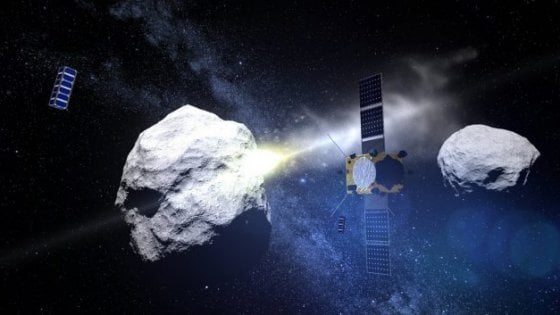 2022, scontro fra sonda Nasa e asteroide: un satellite italiano sarà testimone