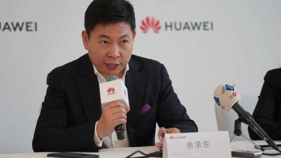 """Il ceo di Huawei, Richard Yu: """"Anche senza l'America saremo i primi al mondo"""""""