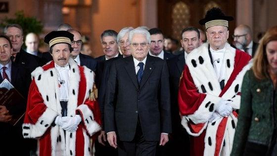"""Anno giudiziario, il monito del presidente Mammone: """"Evitare regressioni sui diritti umani"""""""