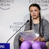A Davos l'appello di Greta, la 16enne ecologista: