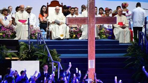 Le immagini più belle del Papa a Panama