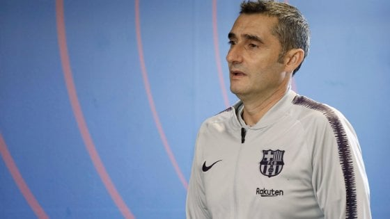 """Barcellona, Valverde: """"De Jong? Io non l'ho mai chiamato, Guardiola sì"""""""