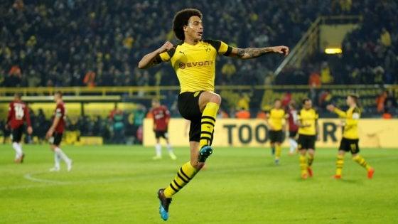 Germania, Borussia Dortmund senza ostacoli: 5-1 all'Hannover, ora tocca al Bayern