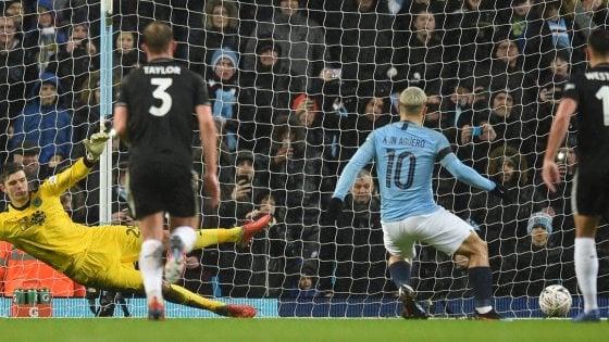 FA Cup: il Manchester City agli ottavi, cinquina al Burnley