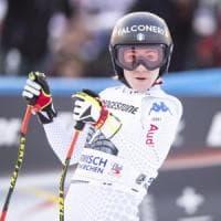 Sci, Cdm: Sofia Goggia ancora sul podio, seconda nella libera di Garmisch
