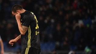Juventus, Allegri contento ma in Champions serve di più. Bonucci ko, un mese di stop