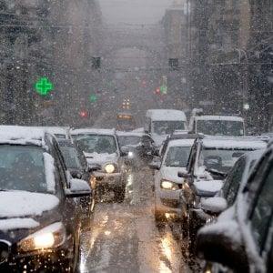 Meteo,  fine gennaio con neve in pianura al Nord e maltempo al Sud
