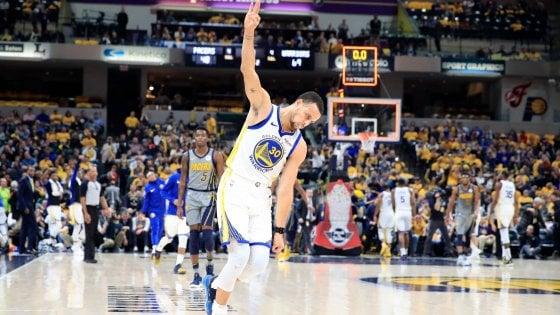 Basket, Nba: Golden State passeggia a Indianapolis, Clippers ko senza Gallinari