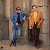 Pitt e DiCaprio in azione: le foto sul set di Tarantino