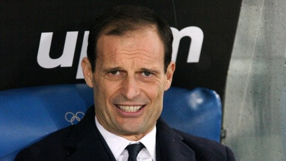 Juventus, Allegri: ''La Champions? Folle pensare che siamo i grandi favoriti''