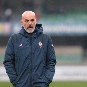 """Fiorentina, Pioli: """"La Roma ha delle lacune, servirà determinazione"""""""