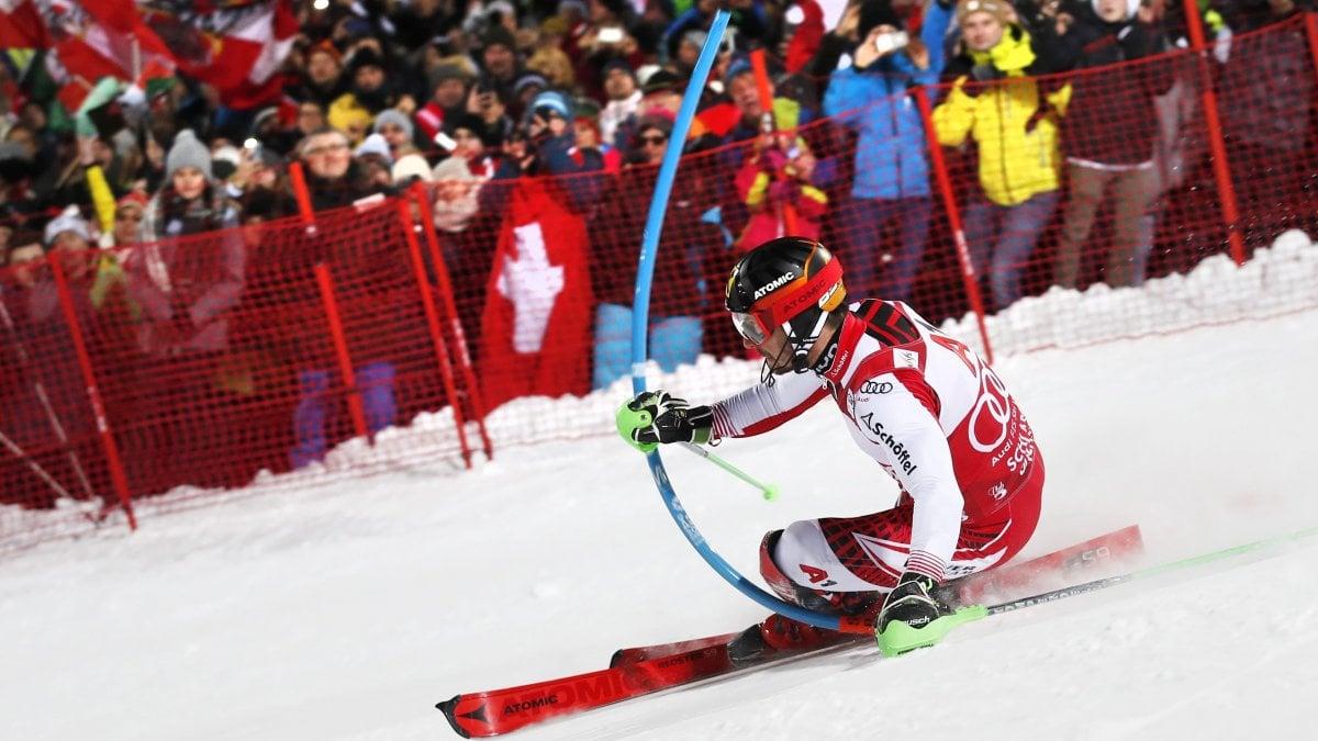 Sci, Cdm: Hirscher vince lo slalom di Schladming
