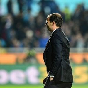 "Juventus, Allegri: ""Le serate no capitano, era nell'aria"""