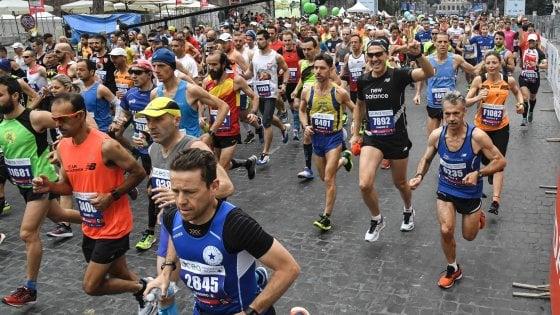 mezza maratona dieta precedente