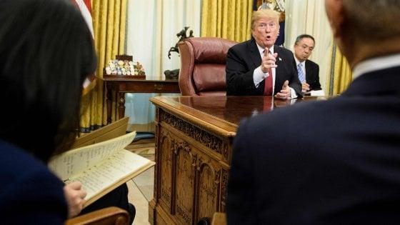 Usa, Trump verso emergenza nazionale per superare lo stallo sul Muro