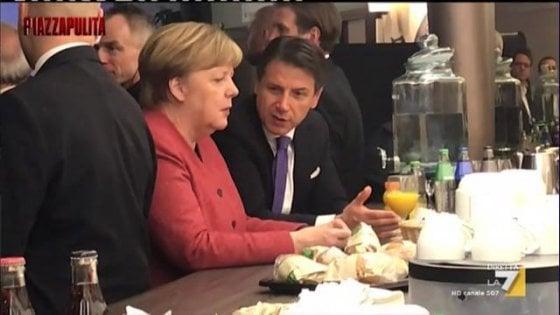 Conte a Merkel nel fuorionda: