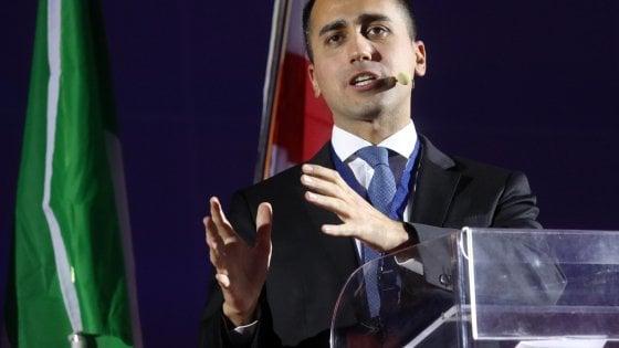 Il vice presidente del Consiglio, Luigi Di Maio