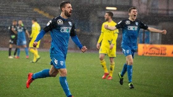 Empoli-Chievo 2-2: Caputo segna una doppietta e rimonta i veneti