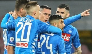 Napoli-Sampdoria 3-0: Milik, Insigne e Verdi rilanciano gli azzurri