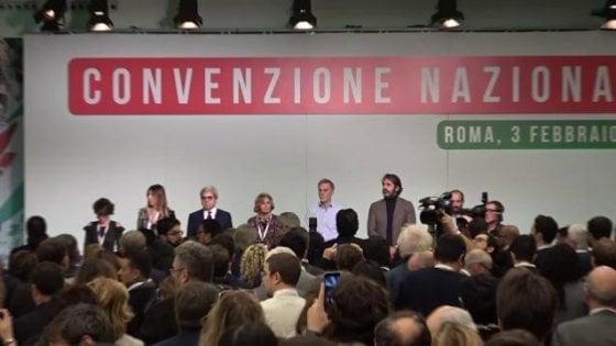 """Convenzione Pd, parte la corsa a tre. Zingaretti: """"Voltare pagina"""". Martina: """"Sfiduciamo Salvini"""". Giachetti: """"Il partito è vivo"""""""