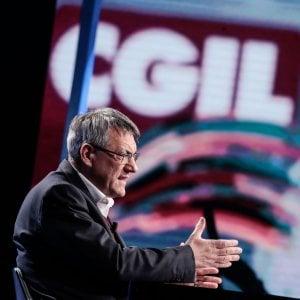 Il neo segretario della Cgil, Maurizio Landini